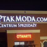 PtakModa.com litery 3D