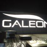 Galeon litery 3D