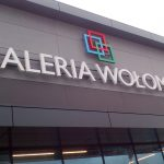 Galeria Wołomin litery 3D