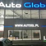 Auto Global litery 3D